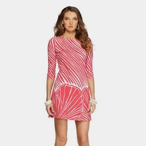Lilly Pulitzer Shimmy Shell Topanga Shift Dress M